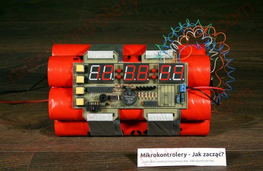 a4352eea4987 Novedoso reloj tipo bomba de tiempo