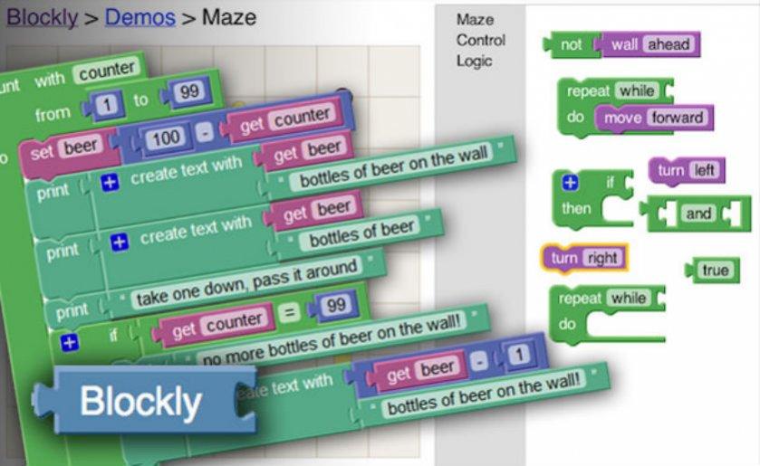 Blockly Games, para que los niños aprendan a programar