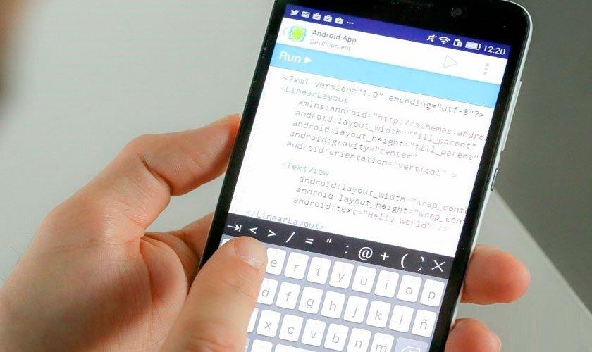 Aprende a programar desde tu smartphone