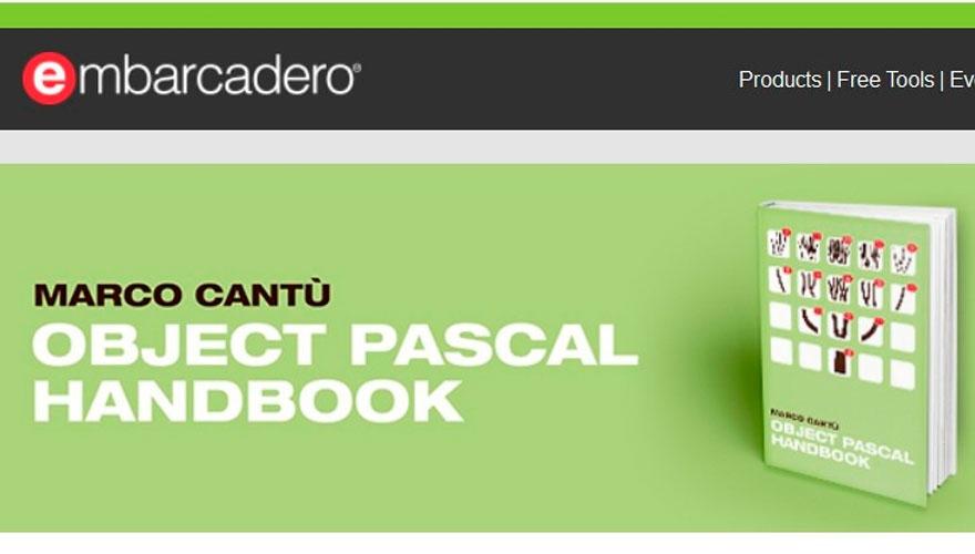 Un libro estupendo de Object Pascal totalmente gratis