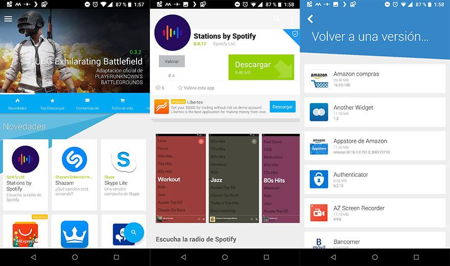 5 excelentes tiendas de aplicaciones Android alternativas a la Play