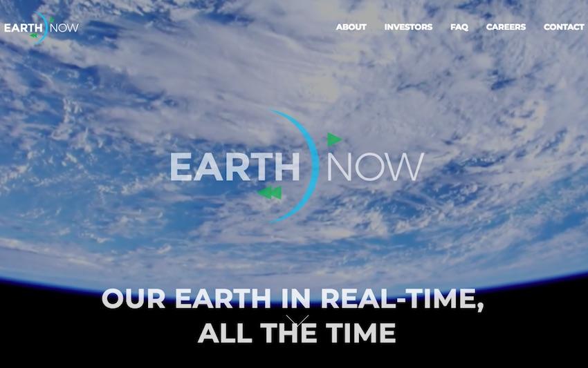 Conoce Earth Now, el proyecto para ver cualquier parte de la Tierra desde el espacio en tiempo real