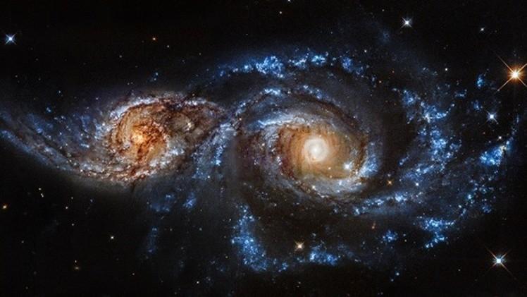 Astrónomos confirman la colisión de dos galaxias en la Vía
