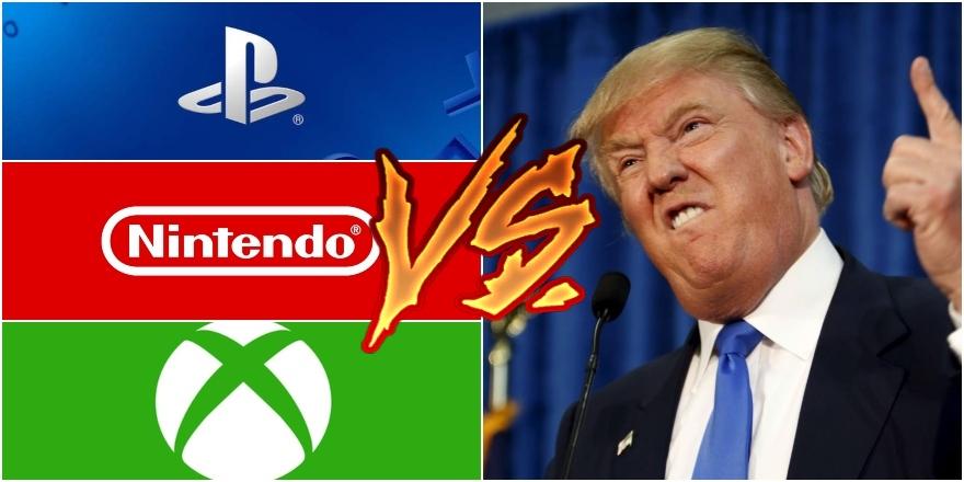 Nintendo, Sony y Microsoft se unen y se van contra Donald Trump. Noticias en tiempo real