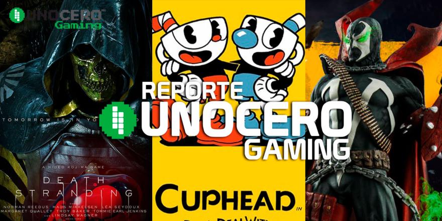 Reporte Unocero Gaming: Death Stranding, Spawn en Mortal Kombat, Cuphead en Tesla y más. Noticias en tiempo real