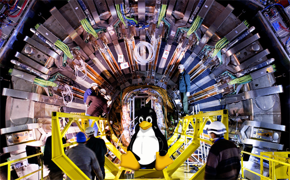 La Organización Europea para la Investigación Nuclear apostará por Linux. Noticias en tiempo real