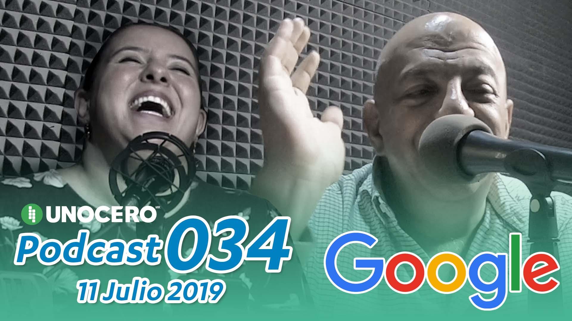 Unocero Podcast 034: Registro del IMEI, Google en MX y tecnologías «ligeras». Noticias en tiempo real
