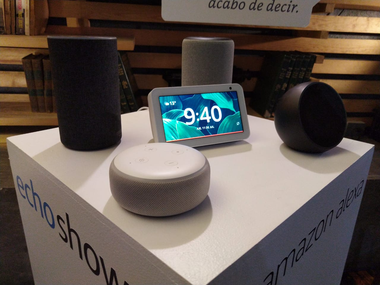 El Amazon Echo Show 5 llega a México, este es su precio. Noticias en tiempo real