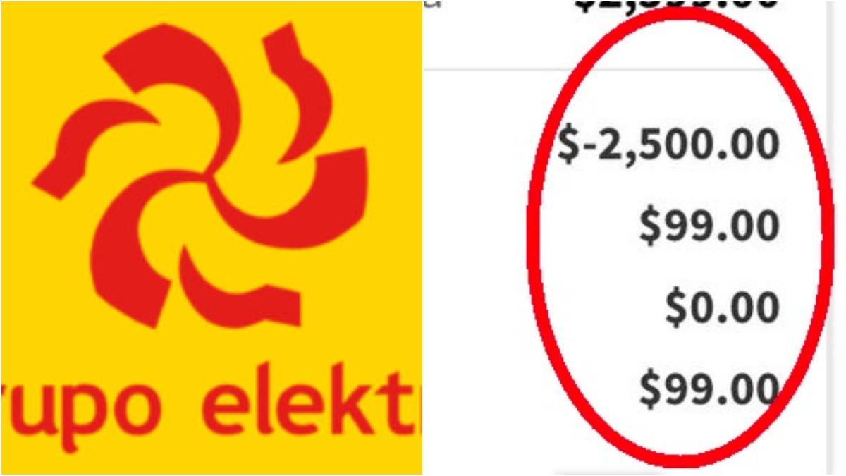 Por error Elektra aplica descuentos de $2,500 a toda su tienda. Noticias en tiempo real