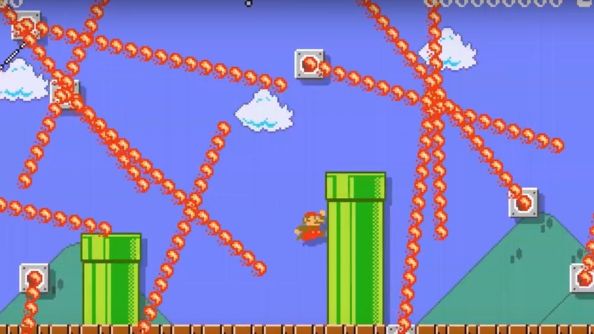 Este nivel ultra difícil de Super Mario Maker 2 se volvió viral… ¿Podrías pasarlo?. Noticias en tiempo real