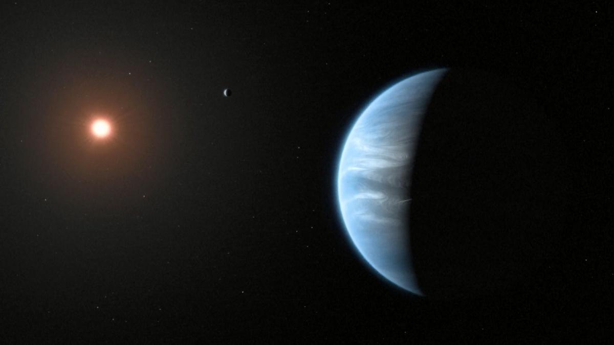 Encuentran vapor de agua en exoplaneta similar a la Tierra y no descartan que haya vida