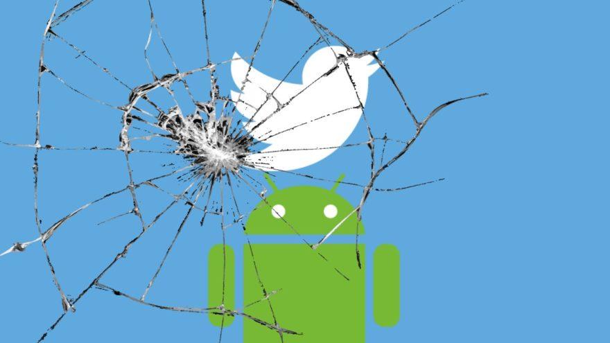 Resultado de imagen para ¡No actualices Twitter en Android! Reportan falla que lo deja inservible