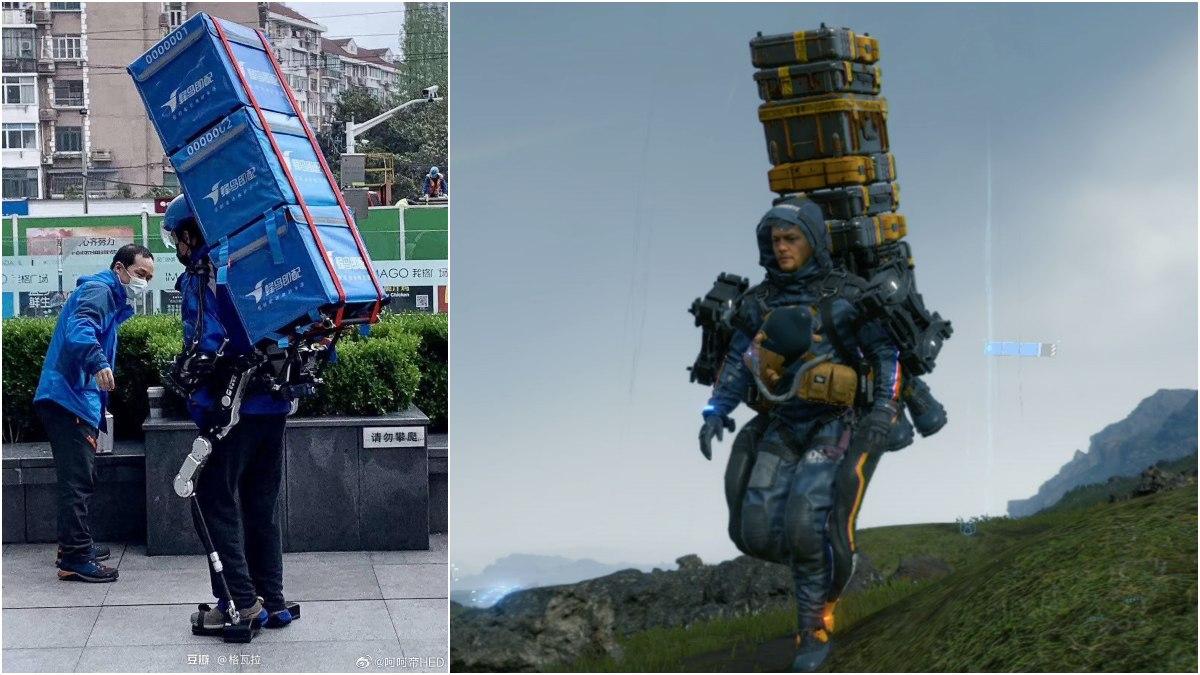 death-stranding-se-hace-realidad-repartidores-usan-exoesqueletos