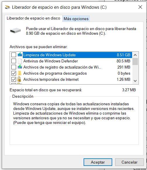 Cómo borrar la caché y liberar espacio en Windows 10 Image-123