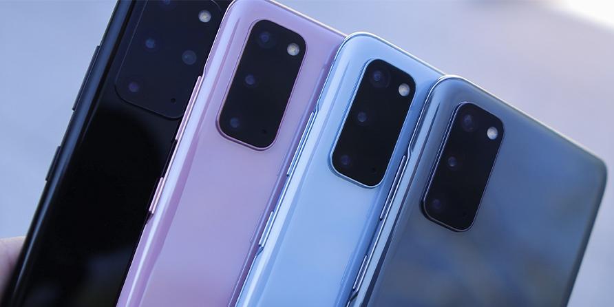 Así lucirían los nuevos Samsung Galaxy S21 en sus nuevos colores. Noticias en tiempo real