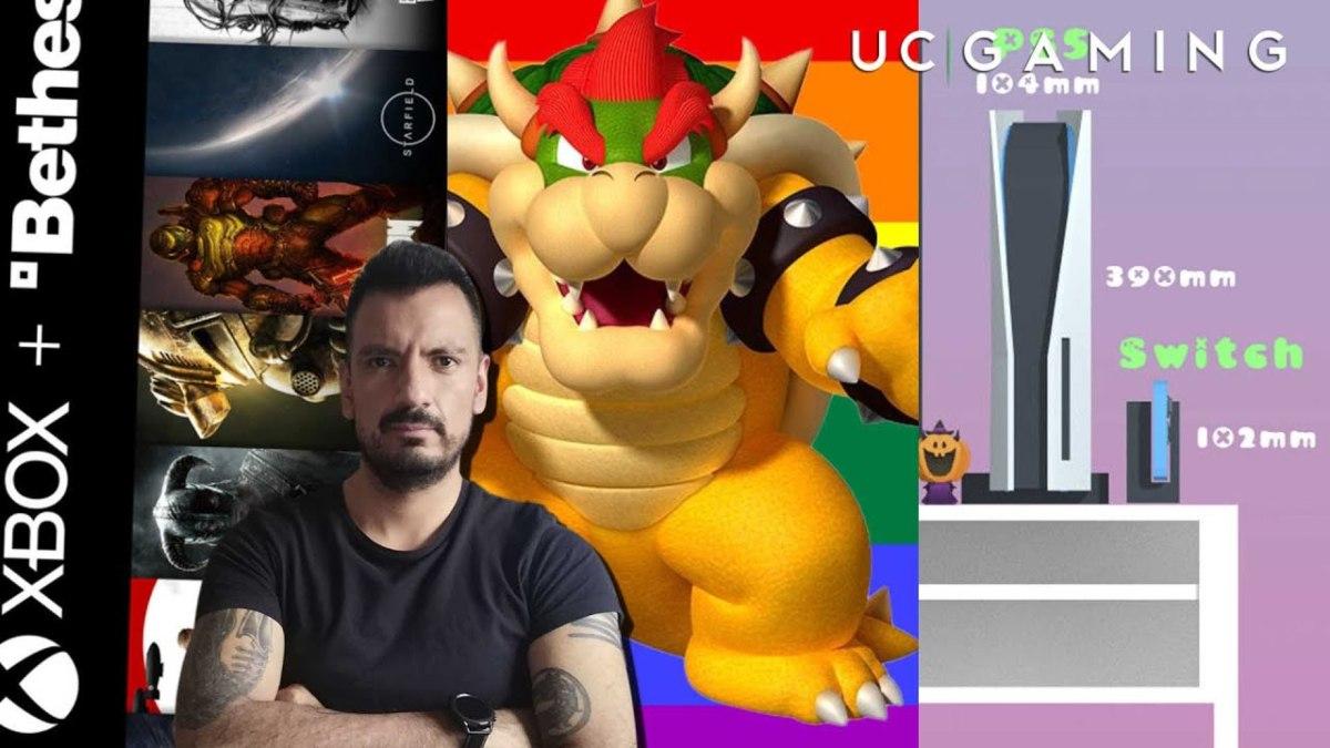 Reporte Unocero Gaming: ¿DOOM, Elder Scrolls y Fallout exclusivos de Xbox?, gay Bowser y más. Noticias en tiempo real