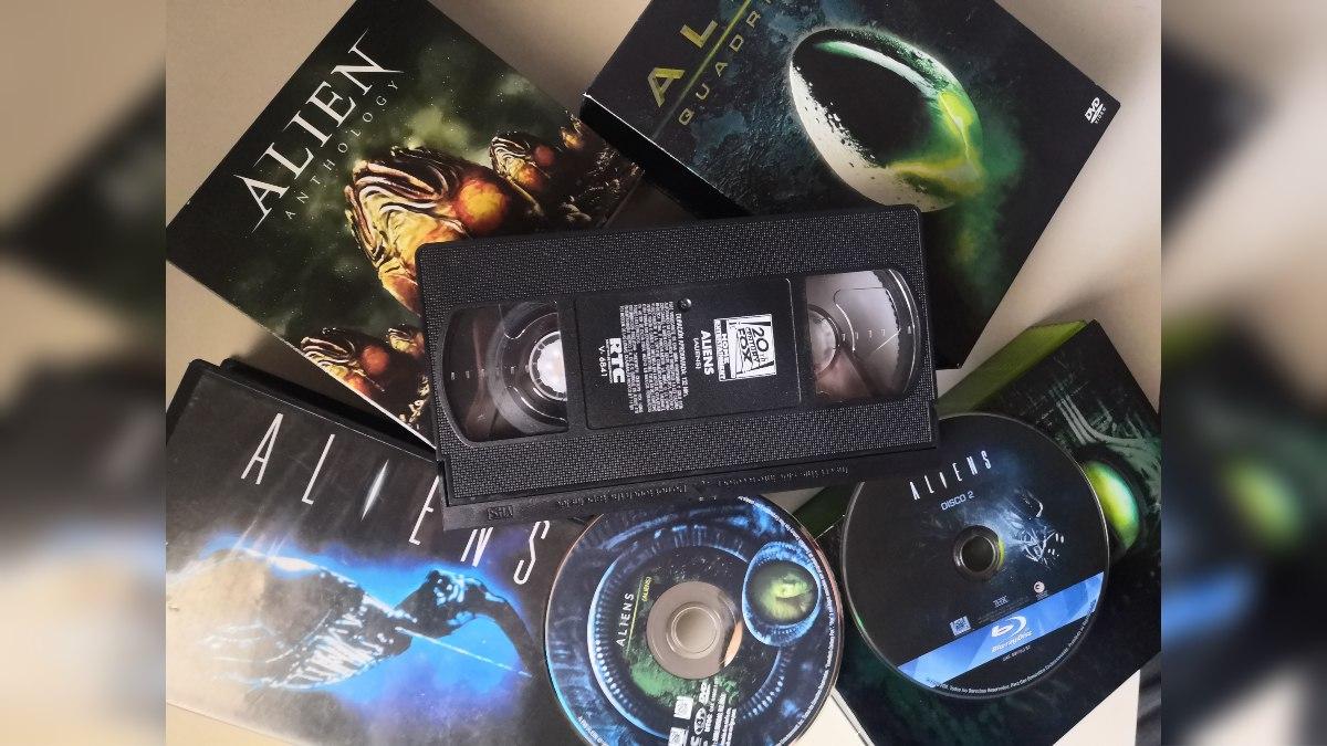 unocero - La evolución de la misma película de VHS a DVD a Blu-ray