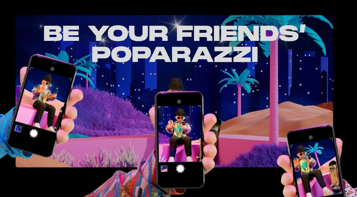 Poparazzi, red social sin selfies