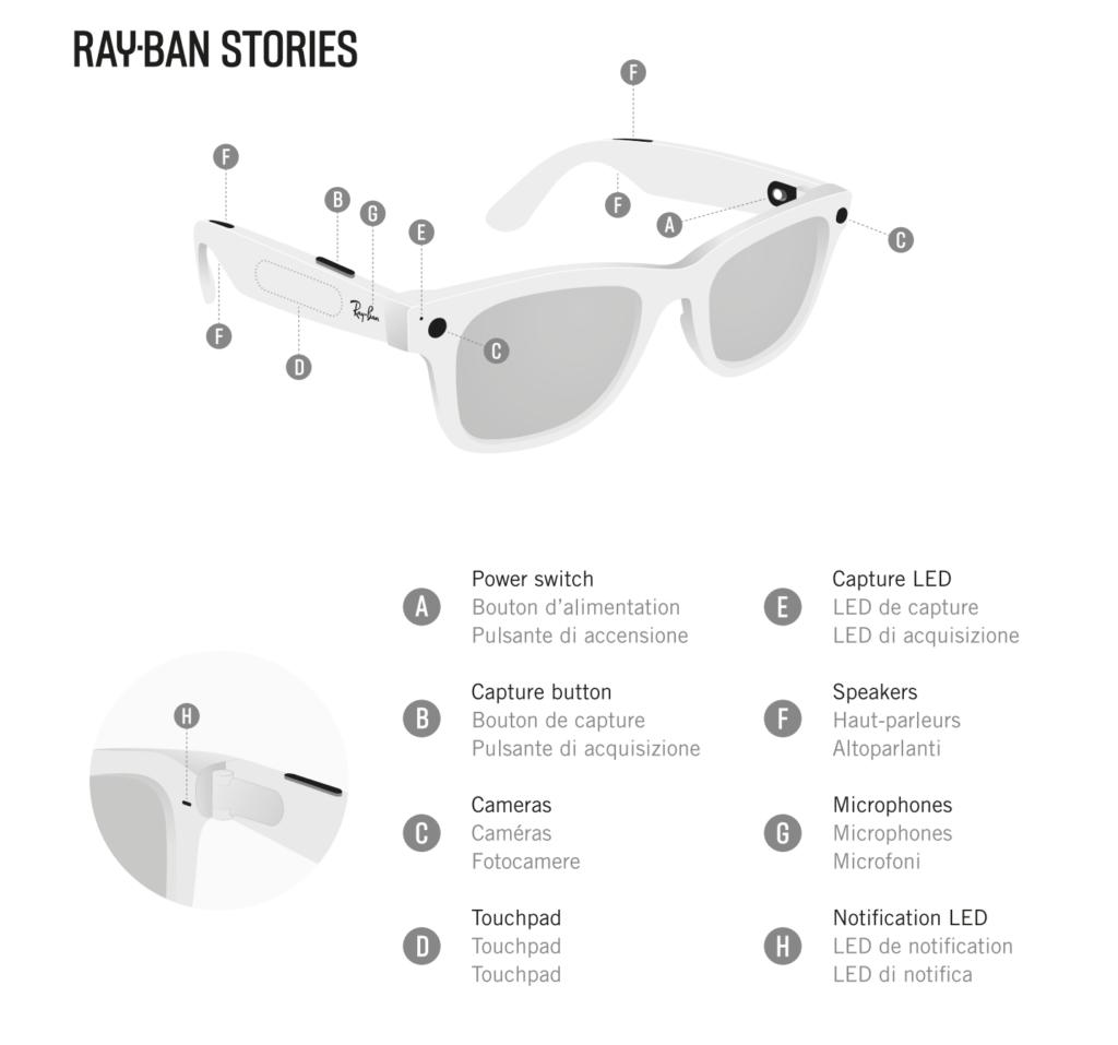 Facebook e Ray-Ban apresentam seus primeiros óculos inteligentes - Super  Smartphones